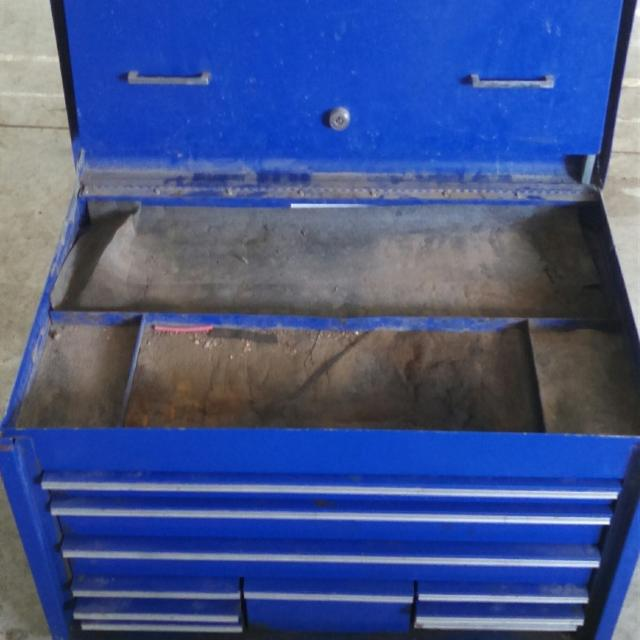 Snap on truck tool box
