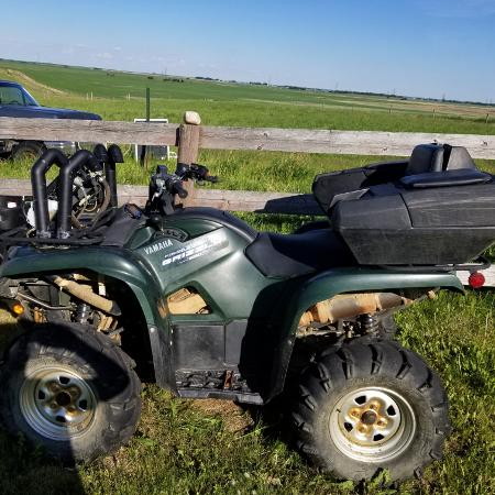 2011 550 Yamaha Grizzly, used for sale  Canada