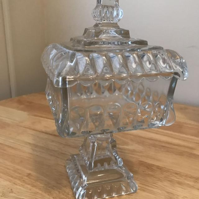 Best Lead Crystal Candy Dish For