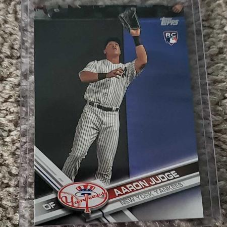 Used, 2017 Topps Series 1 Aaron Judge... for sale  Canada