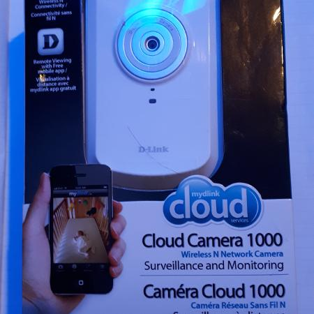 D link wireless n network camera, used for sale  Canada