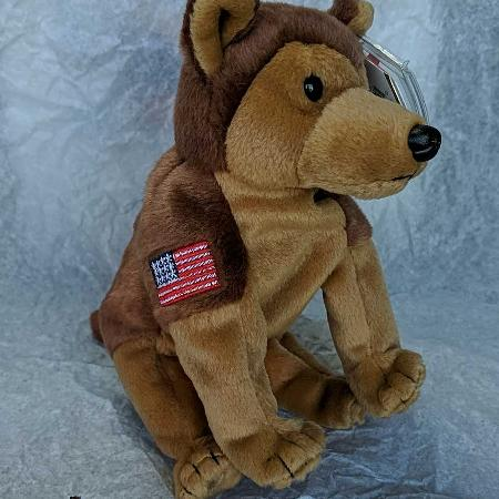 Courage German Shepherd Beanie Baby for sale  Canada