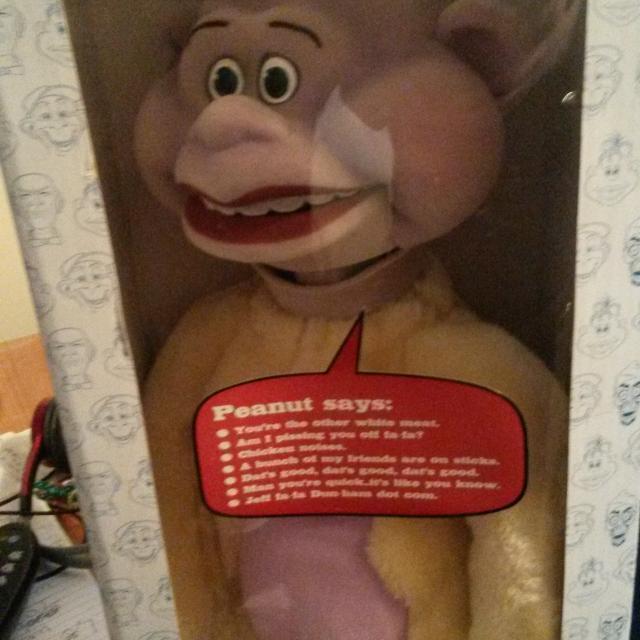 Best Talking Peanut Jeff Dunham Puppet For Sale In Frankfort