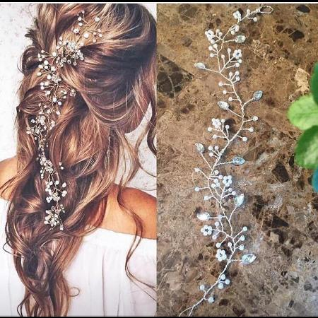 Bridal hair piece for sale  Canada