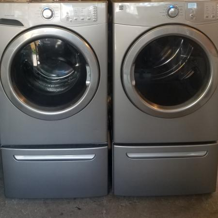Kenmore steam washer and dryer with... for sale  Canada