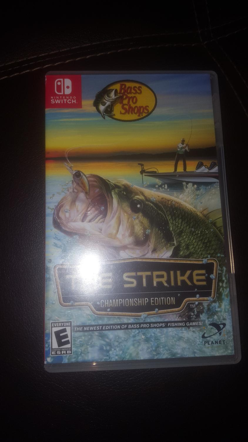 Find More Nintendo Switch Bass Pro Fishing Game For Sale At Up To 90 Off
