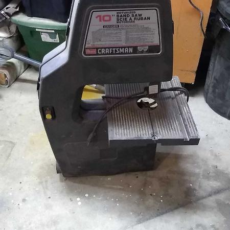 Craftsman 10 inch band saw for sale  Canada