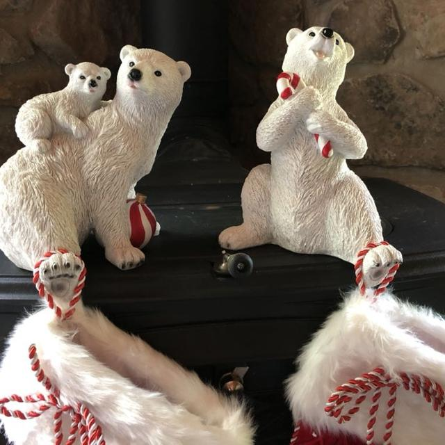 Find More Balsam Hill Polar Bear Stocking Holders And Stockings For Sale At Up To 90 Off