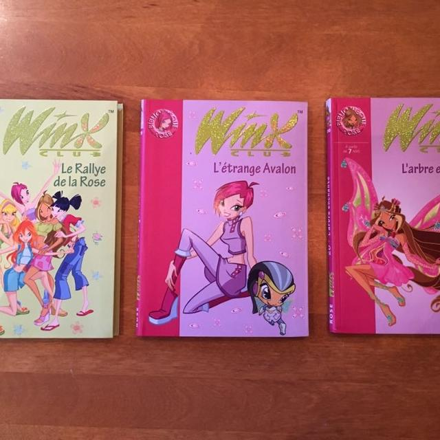 Lot De Livre De La Collection Winx Club En Francais