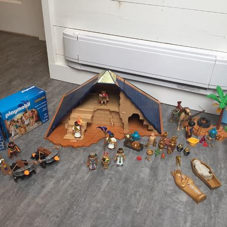 Playmobil pyramid and more sets LOT, used for sale  Canada