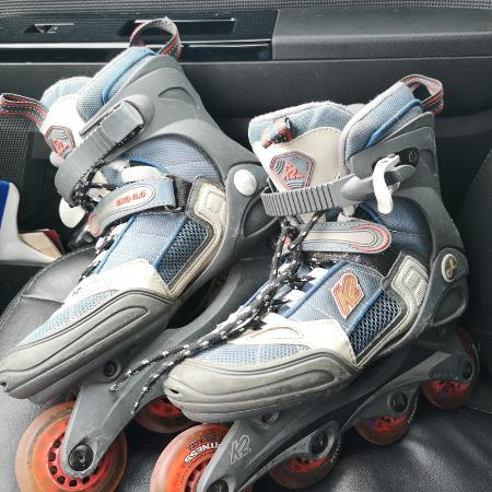 K2 rollerblades size 8 ladies for sale  Canada