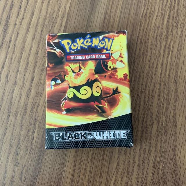 Pokemon black & white deck