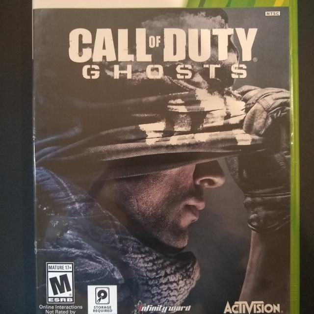 Best Xbox 360 Game Call Of Duty Ghosts For Sale In Dekalb County