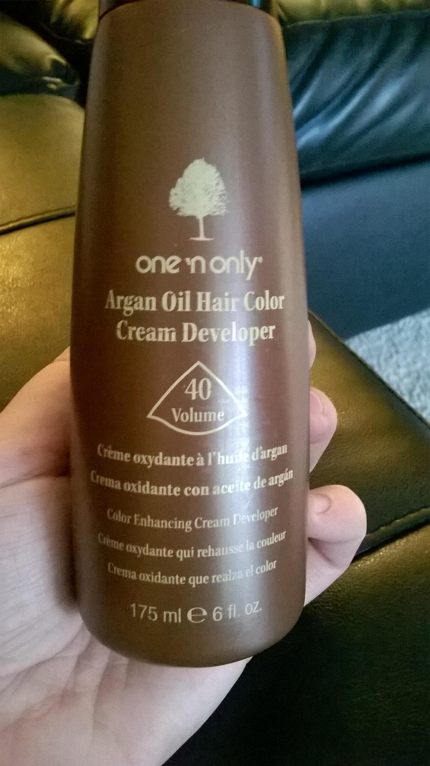 Best Argan Oil Hair Color Creme Developer 40 Volume For Sale