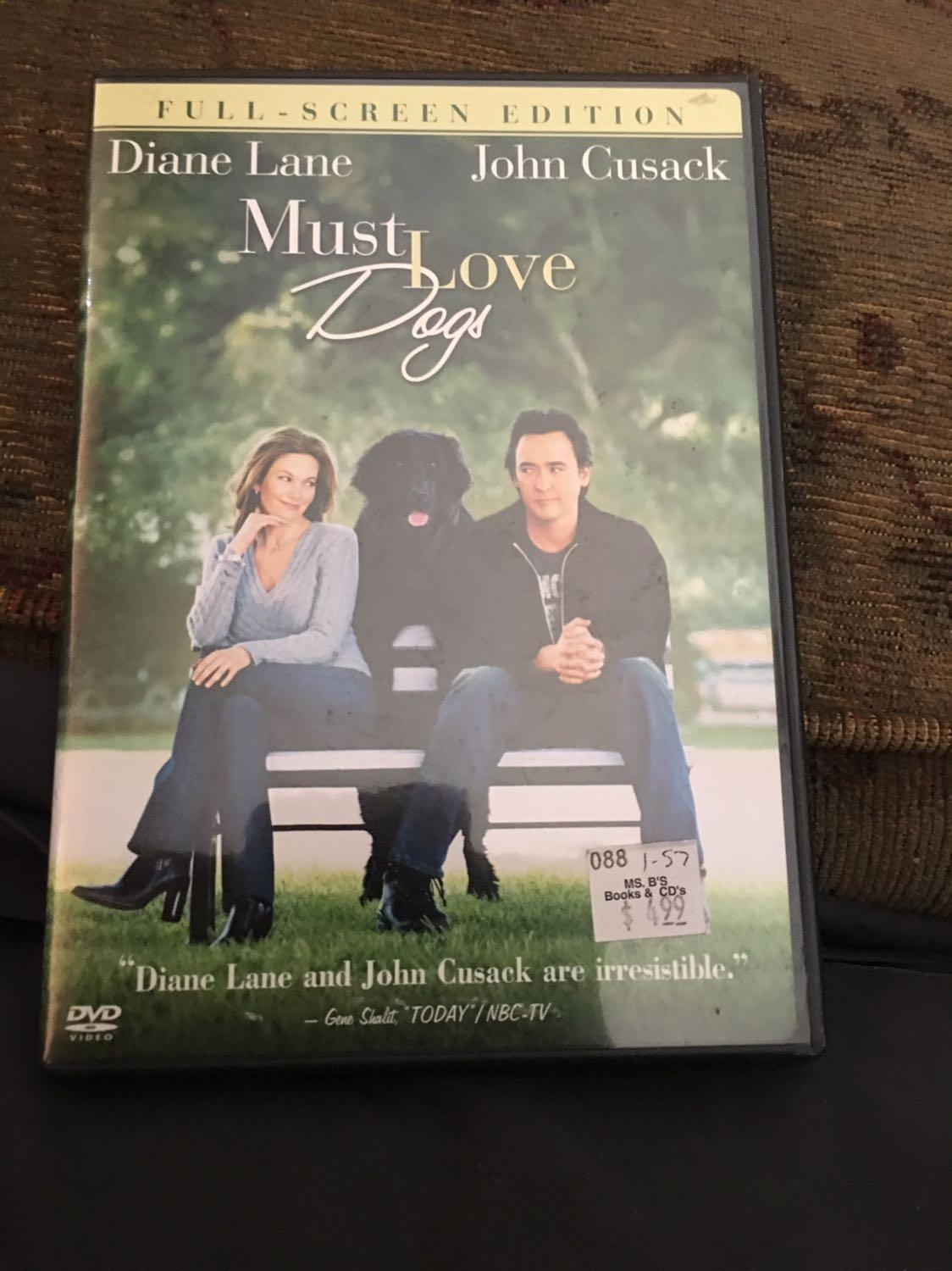Best Must Love Dogs Dvd For Sale In Hendersonville Tennessee For 2020