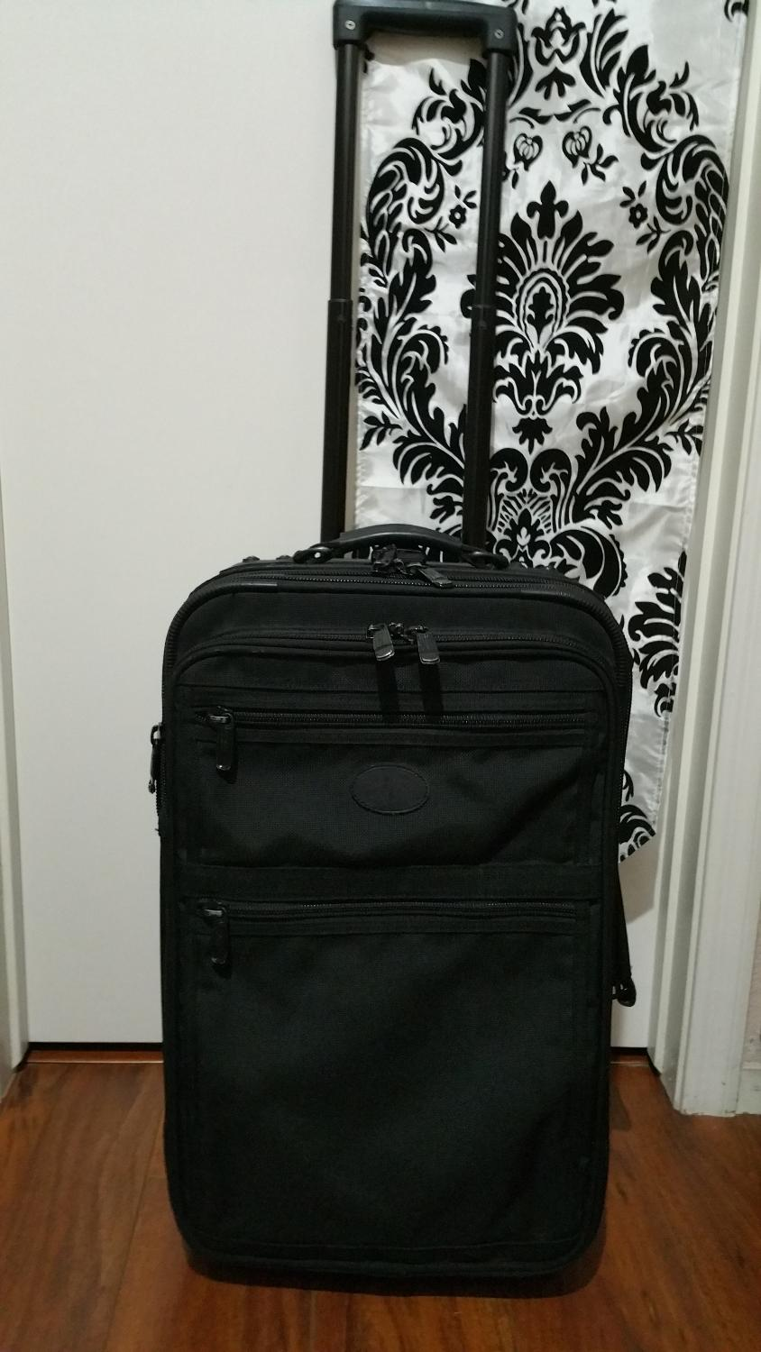 Best Kirkland Signature Costco Duramax Ballistic Nylon 22 Upright Expandable Wheeled Suitcase Approx 23 X 14 X 9 Exp Nw Area 89131 For Sale In Las Vegas Nevada For 2021 Tag your photos with #costco for a chance to be featured. kirkland signature costco duramax ballistic nylon 22 upright expandable wheeled suitcase approx 23 x 14 x 9 exp nw area 89131