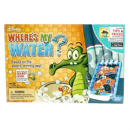 Disney where's my water? board game, used for sale  Canada