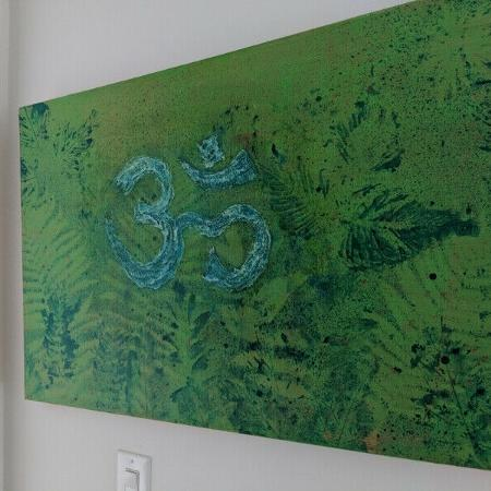 Used, Abstract Om Oil Painting for sale  Canada