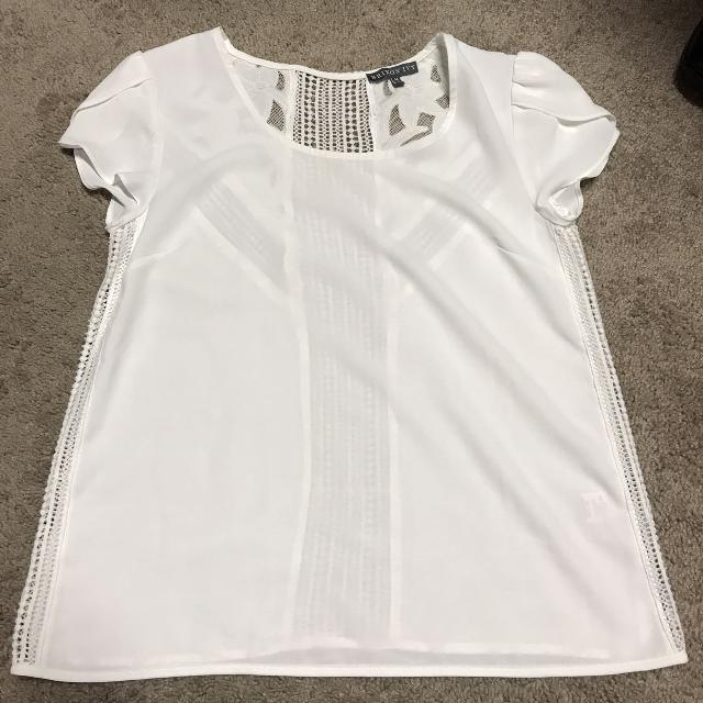 Find More Cute White Top Sz Medium For Sale At Up To 90 Off