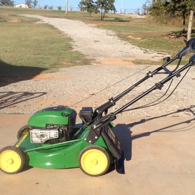 John Deere Lawn Mowers For Sale >> John Deere 675 Self Propelled Lawn Mower