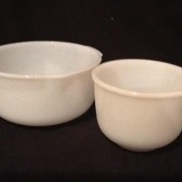 Find more Vintage Sunbeam Mixmaster Nested Mixing Bowls - Set Of Two ...