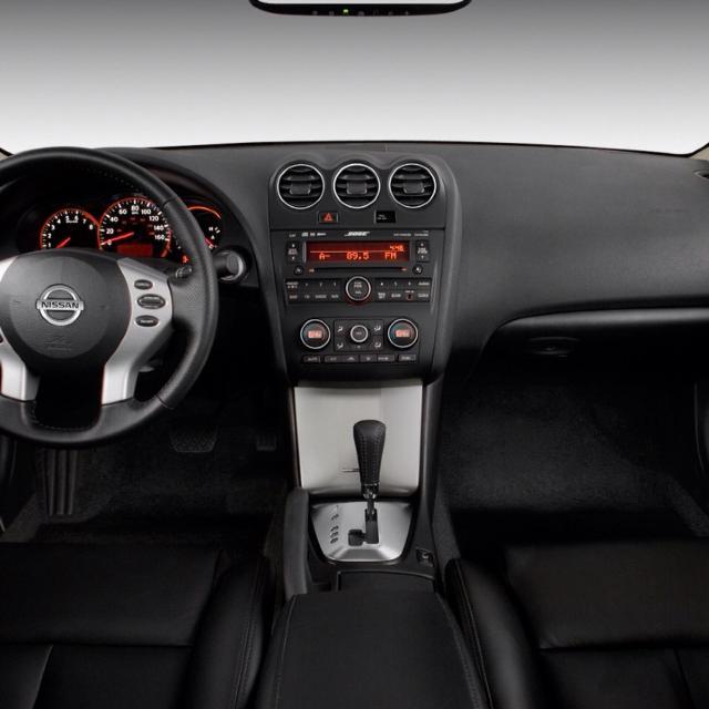 Nissan 2 Door >> 2009 Nissan Altima 2 Door Red Exterior Black Leather Seats Heated Front Seats 6 Disc Cd Changer Tinted Windows 75 300 Miles 5803620709