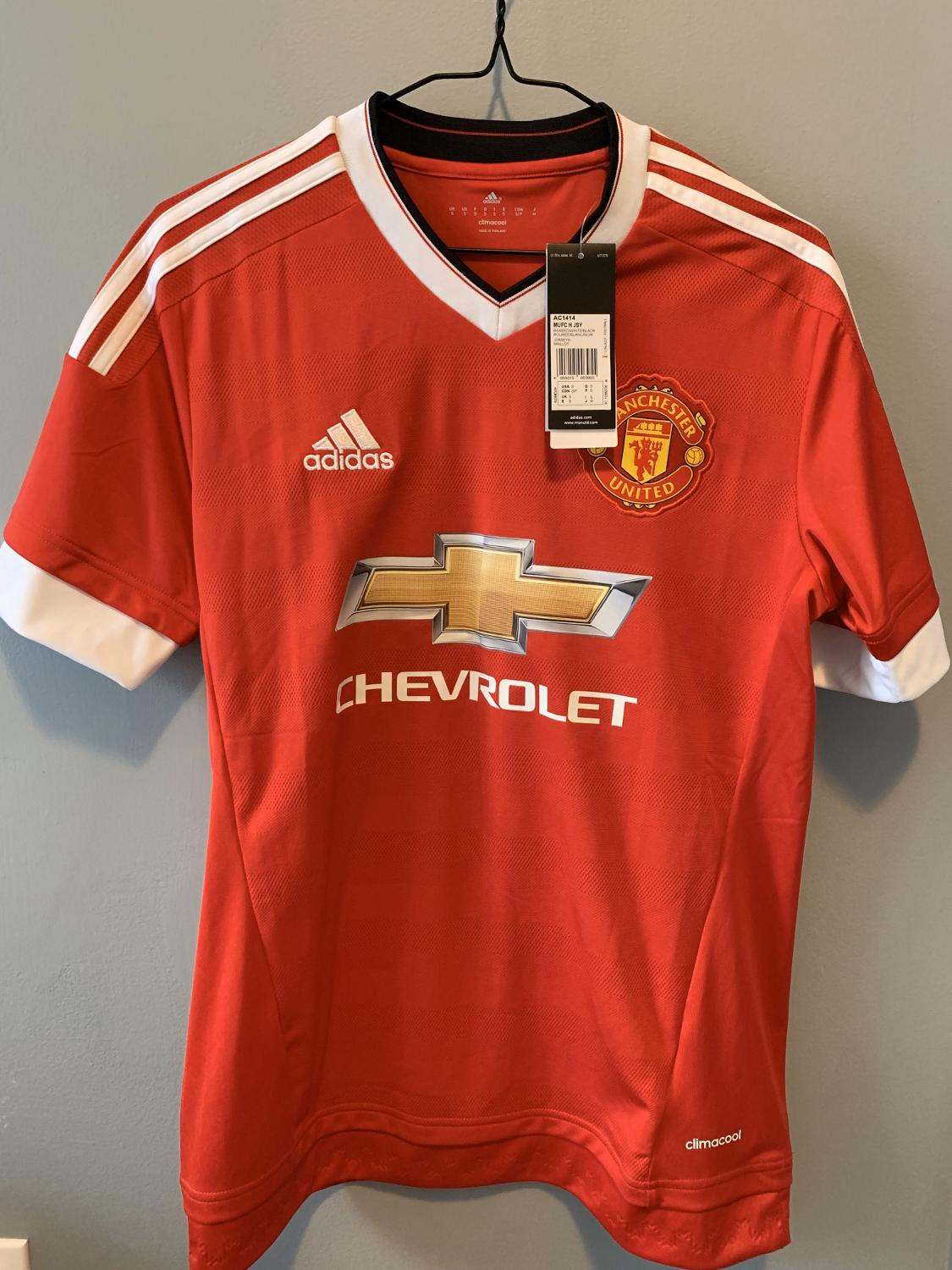 best scholes 22 manchester united tribute jersey home 2015 16 adidas small authentic for sale in hamilton ontario for 2020 scholes 22 manchester united tribute jersey home 2015 16 adidas small authentic