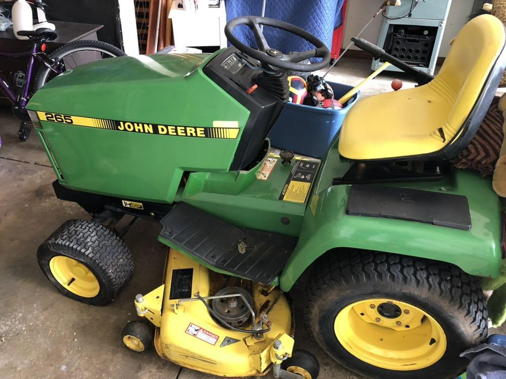 Find More John Deere 265 Riding Mower Reduced Again For