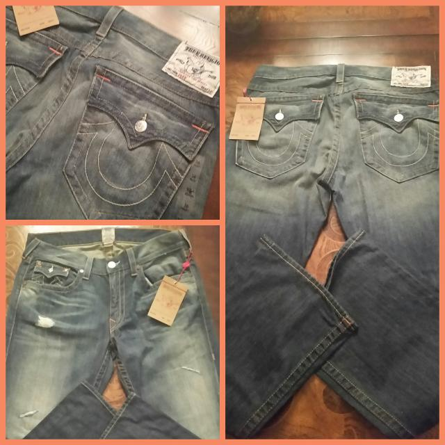 31906033970 Find more Nwt Authentic Men s True Religion Jeans. Size 36 Inseam 33 ...