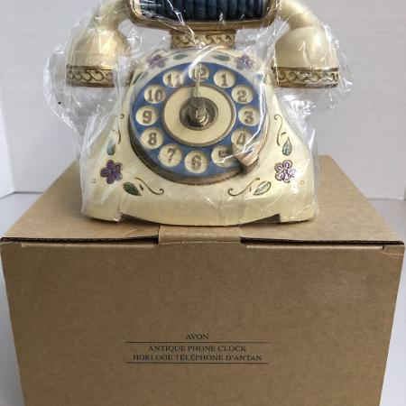 New Avon Antique Phone Clock, used for sale  Canada