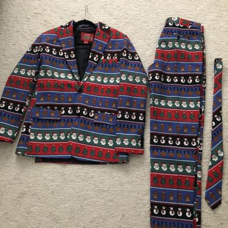 Ugly Christmas Suit Size S, used for sale  Canada