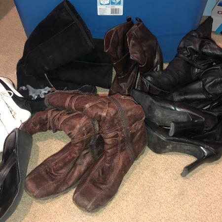 Ladies shoes/boots all size 8 except... for sale  Canada