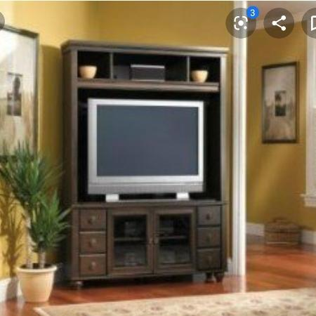 Corner Entertainment Unit or TV Stand, used for sale  Canada