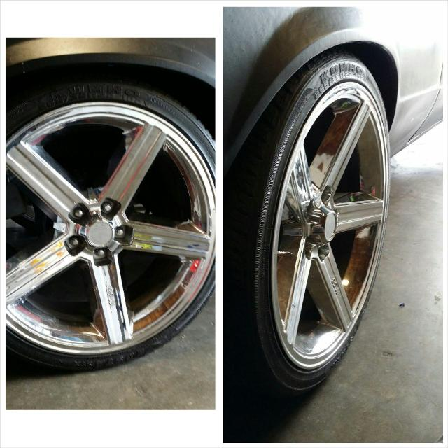 Best 22 Inch Jj Iroc Rims With Brandnew Tires For Sale In Corona