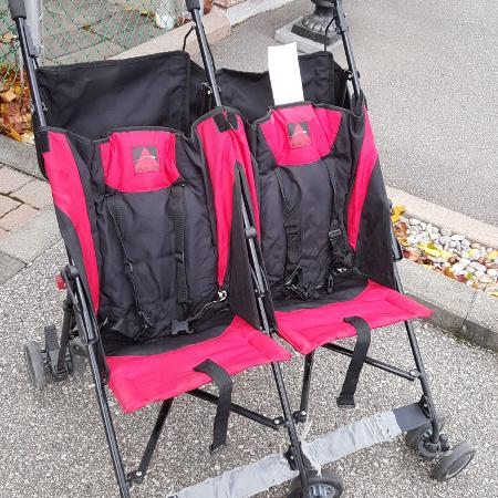 Double umbrella stroller, used for sale  Canada