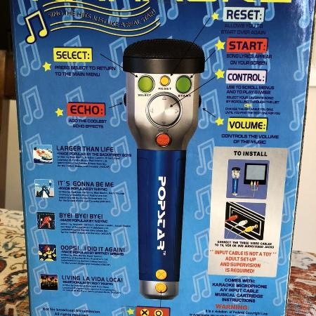Pop Star singalong Karaoke microphone for sale  Canada