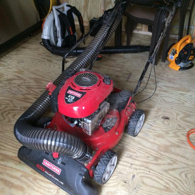 Craftsman 190cc 4 In 1 Plus Chipper Shredder Yard Vacuum Not A
