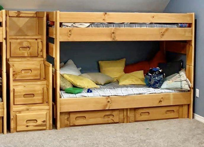 Best Trendwood Bunk Bed With Staircase Storage For Sale In