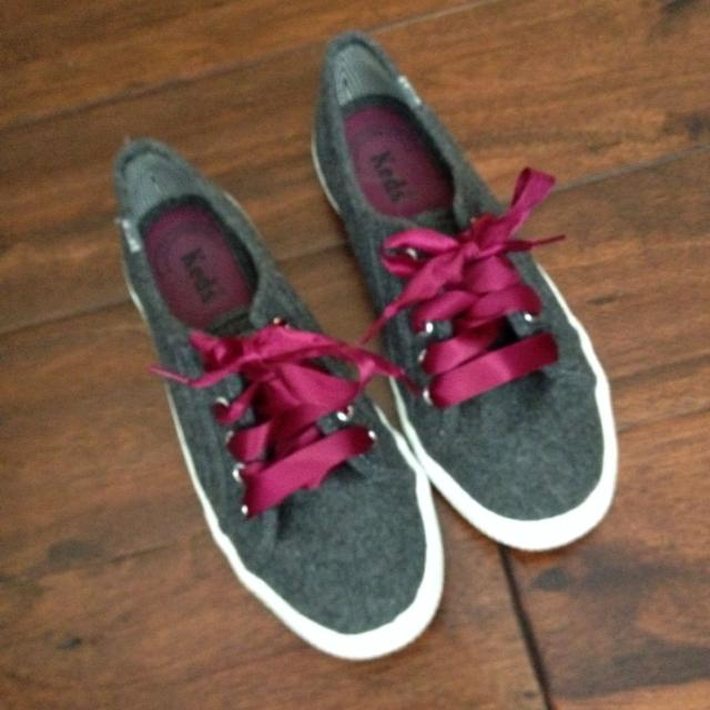 Find more Keds Tennis Shoes. Size 6. Only Worn Once Or Twice. Grey ... 042a9af0ad6