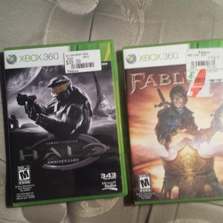 Halo anniversary $10 fable 3 $5, used for sale  Canada