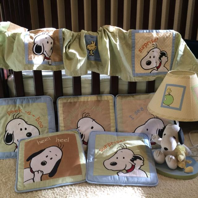 Baby Snoopy Nursery Decor