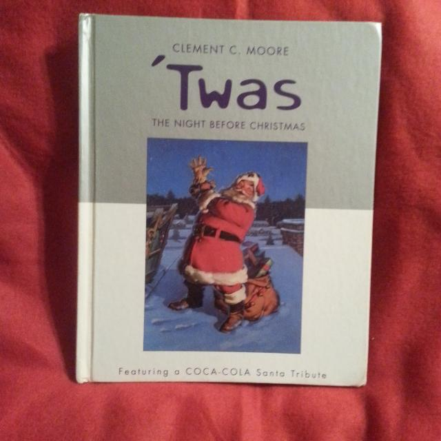 vintage twas the night before christmas story book - The Night Before Christmas Story