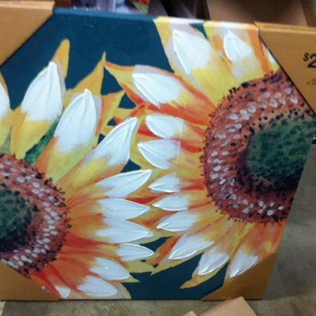 Find more Sunflower Painting 2 Ft. X 2 Ft. \