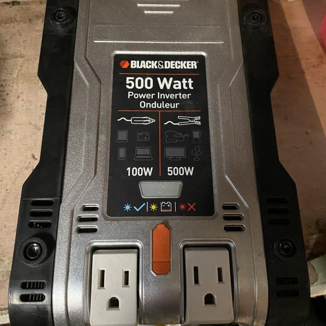 Find More 500w Power Inverter With Lighter Plug And Clamps
