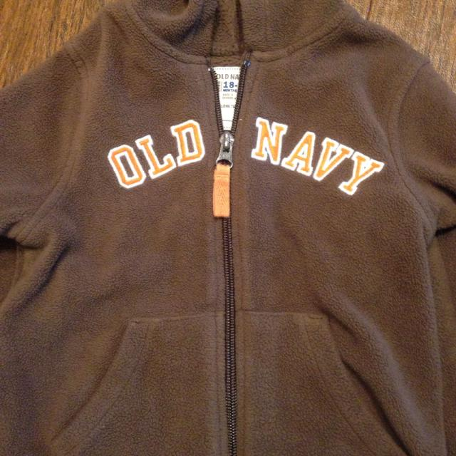 71c36b34171f Find more Old Navy Dark Brown Velour Jacket Hoodie Baby Boy 18-24 ...