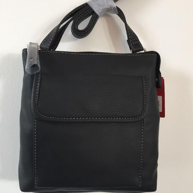 Relic Crossbody Bag In Black Faux Leather New With Tags