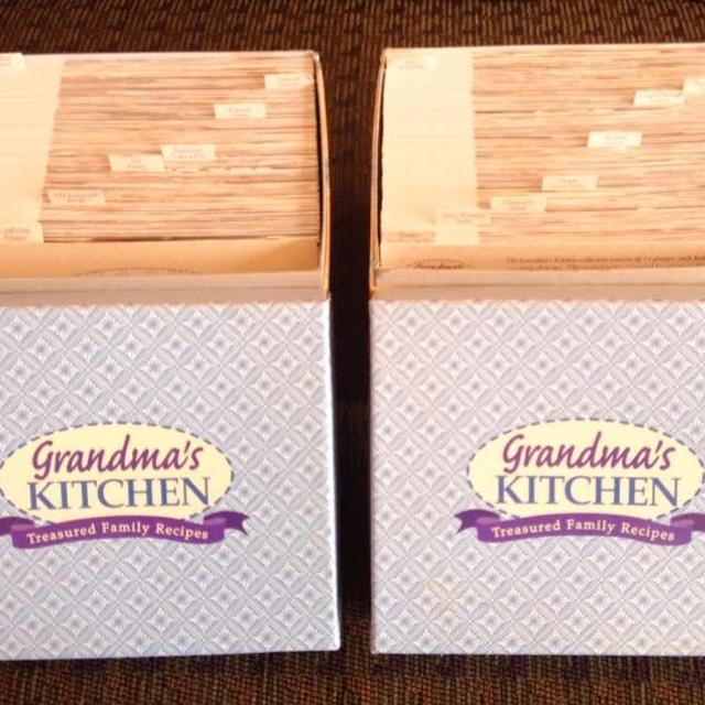 Recipes - Grandma\'s Kitchen Recipe set
