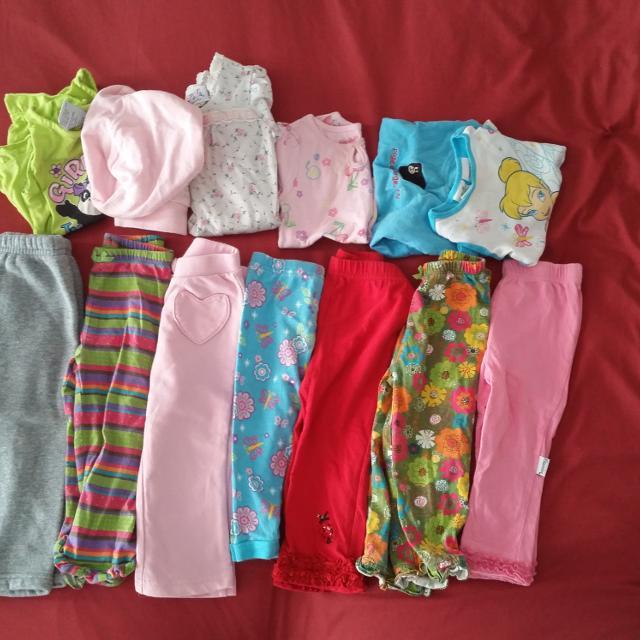 9647ffddb Best 12 Piece Baby Girl Toddler Lot 18 Months Sleep Pajamas   Night ...