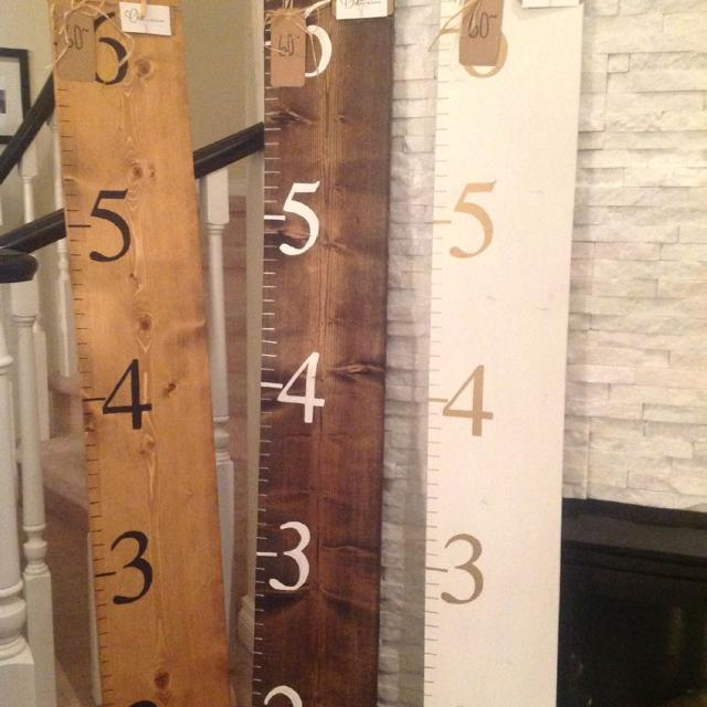 Best Beautiful Wood Growth Chart Rulers Large Small For In Calgary Alberta 2019