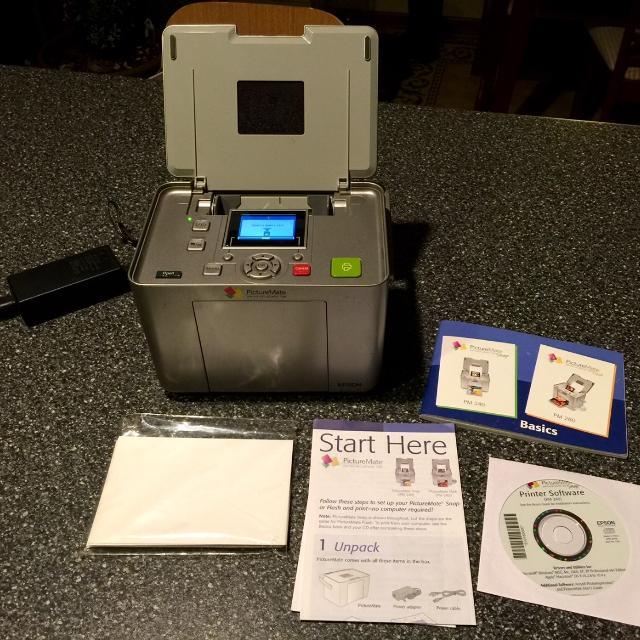 Small Epson Printer, PictureMate PM 240